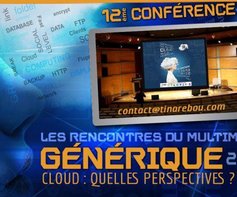 ANIMATION WEB – Générique Conférence CLOUD 2013