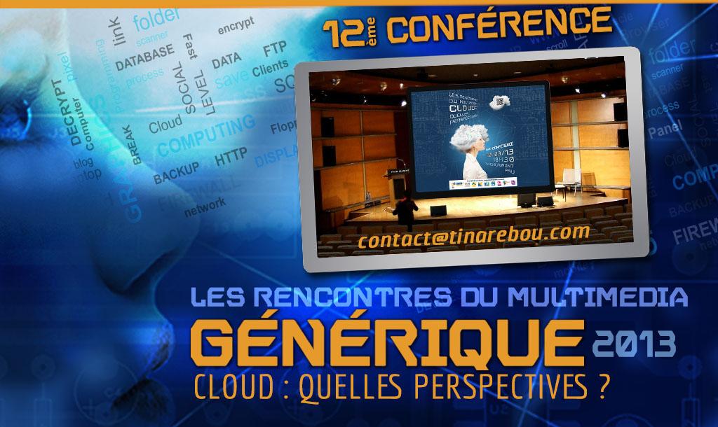 Générique Conférence CLOUD 2013