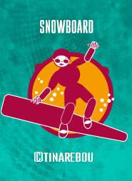 Pictogramme Snowboard