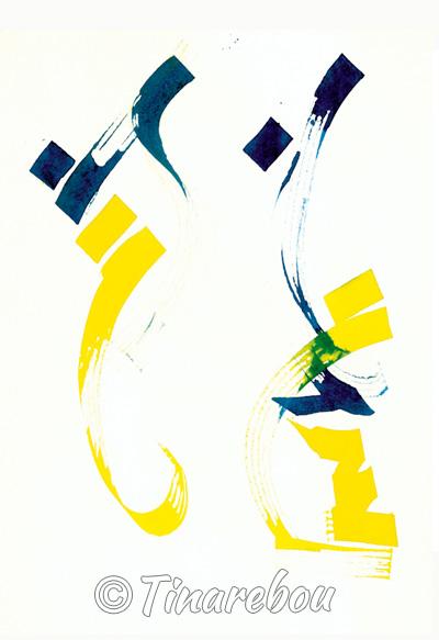 Calligraphie - Mouvement 4