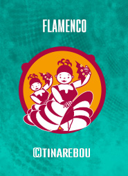 Pictogramme Flamenco