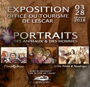 FÉVRIER 2018  Office du Tourisme de LESCAR LESCAR EXPOSITION SOLO