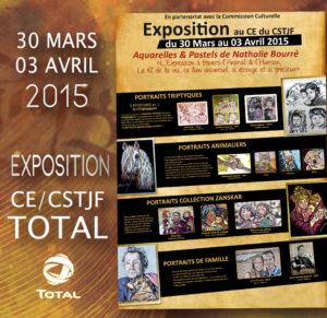 AVRIL 2015 | CE CSTJF/ TOTAL PAU EXPOSITION SOLO