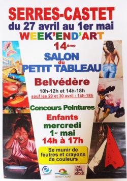 14ème Salon du Petit Tableau – Serres-Castet