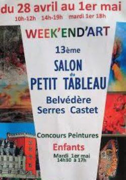 13ème Salon du Petit Tableau – Serres-Castet